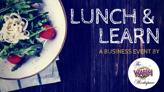 Lunch & learn Header with salad
