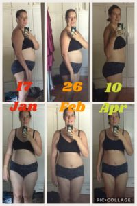 Weightloss before, during and after photos