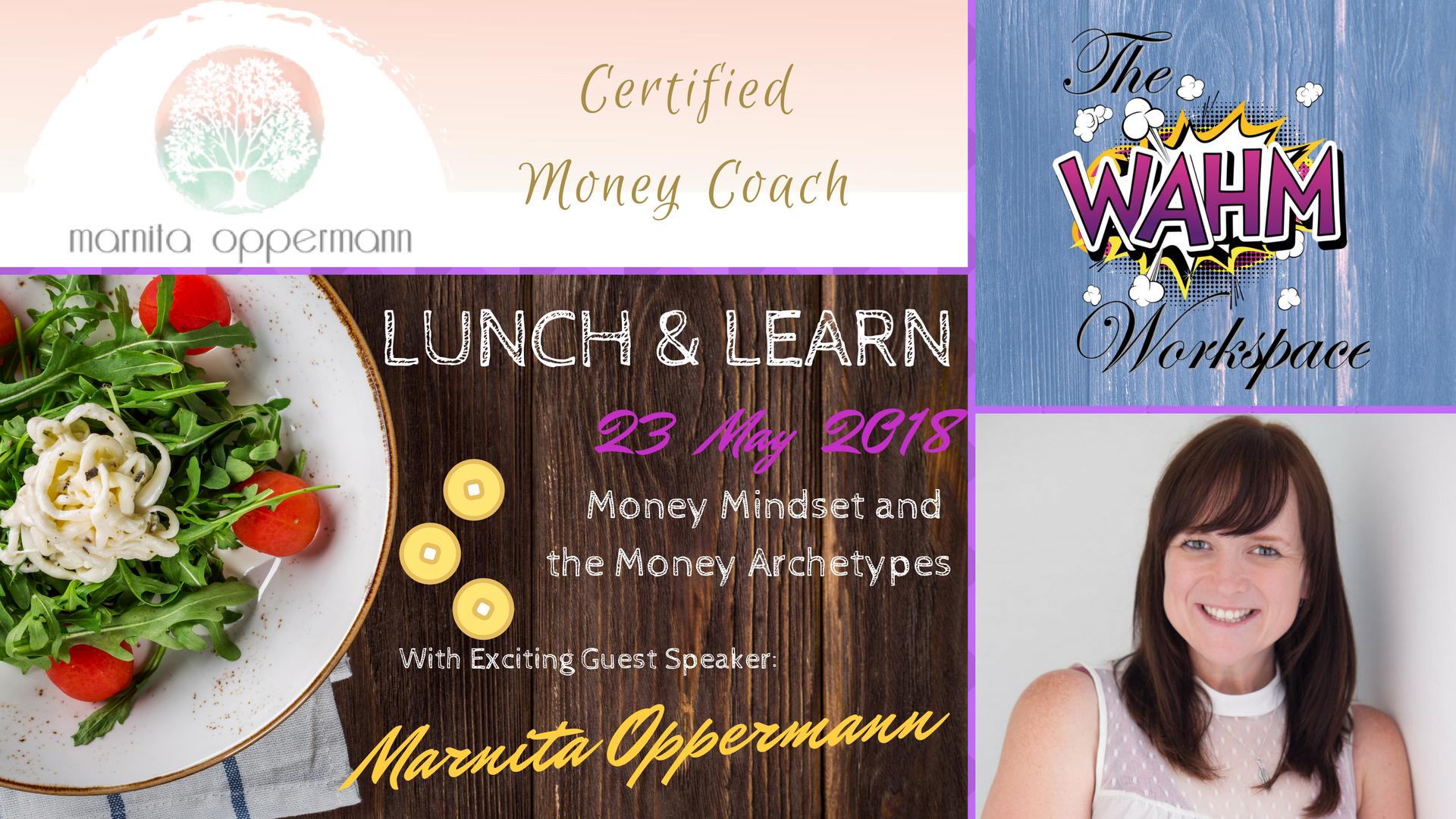 Lunch & Learn 4 details - Marnita Oppermann Mindful Money Coach