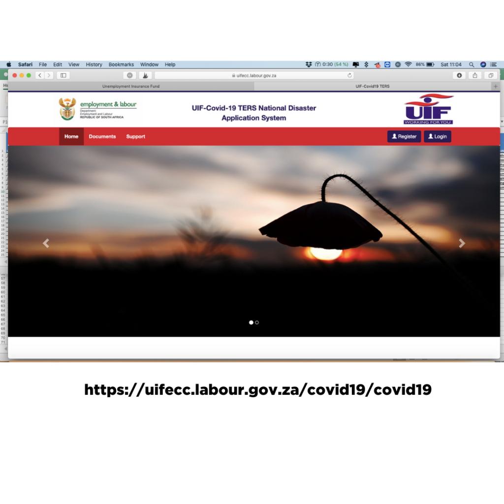 UIF TERS ONLINE APPLICATION