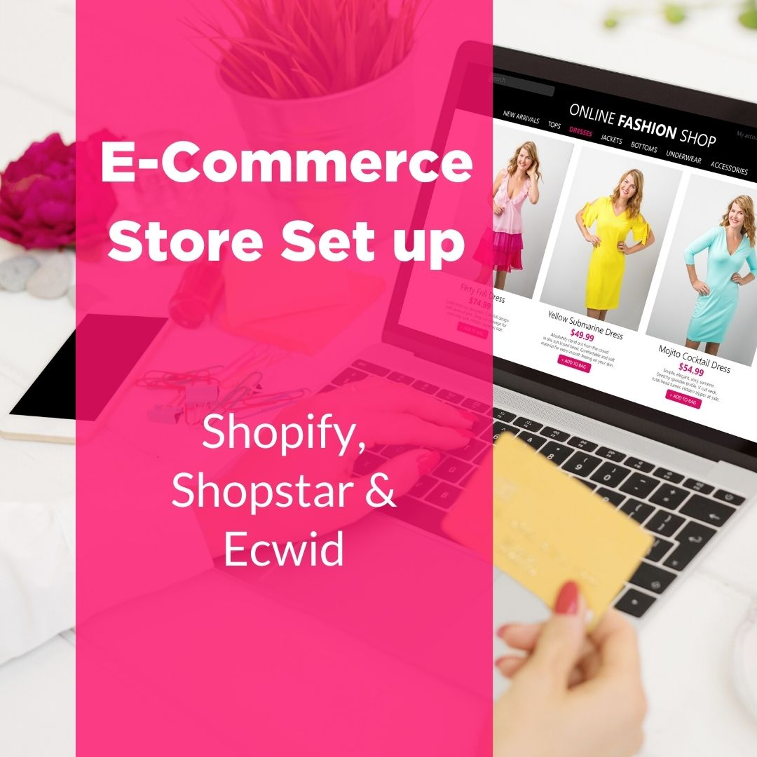 Shopfiy store set up