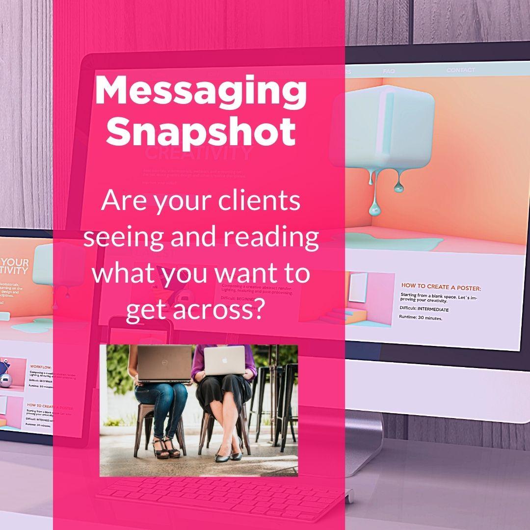 Messaging snapshot web