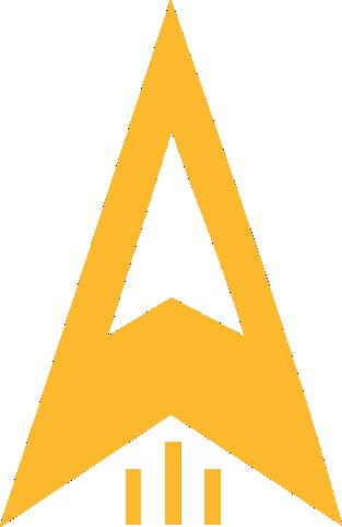 CoLaunch logo rocket element yellow