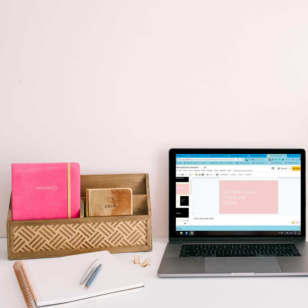 online business intensive
